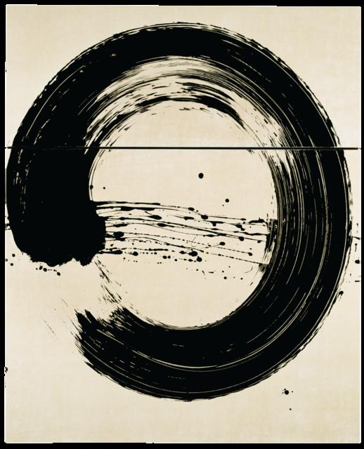 Cercle blanc I