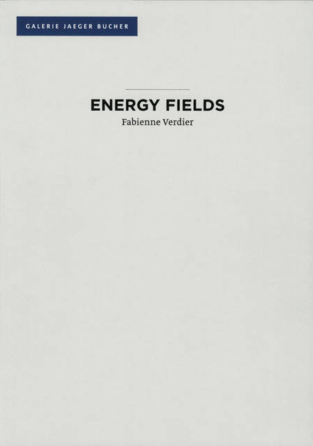 Fabienne Verdier - Energy Fields