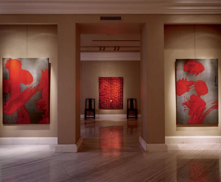 Solo exhibition at Galerie Ariane Dandois