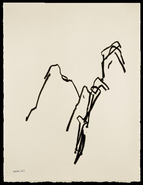 Ligne de paysage, dessin n°2
