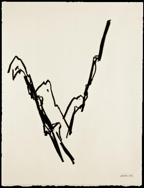 Ligne de paysage, dessin n° 3