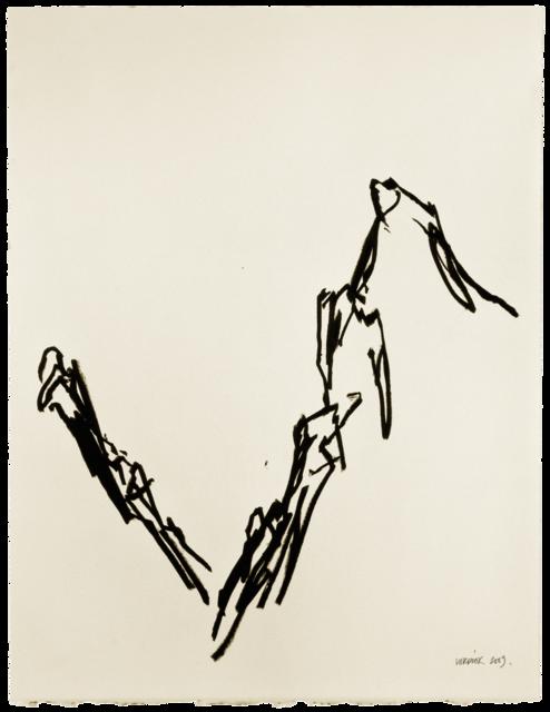 Ligne de paysage, dessin n° 8
