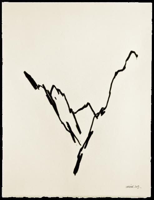 Ligne de paysage, dessin n° 9