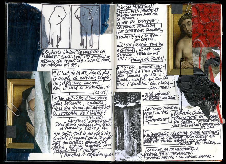 Artist's notebook B