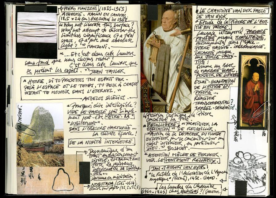 Artist's notebook A
