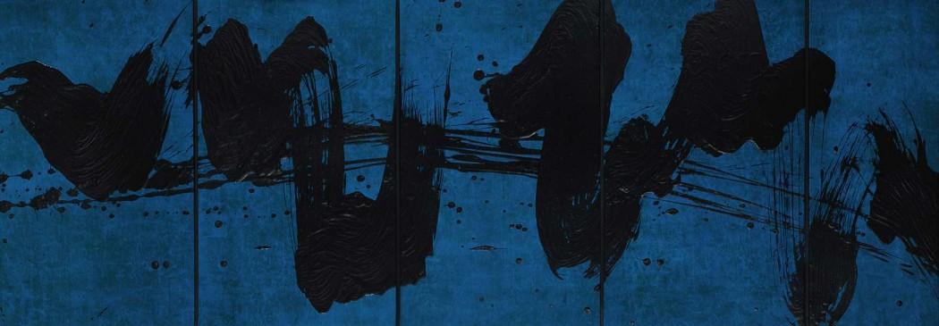 Fabienne Verdier - Notations en bleu