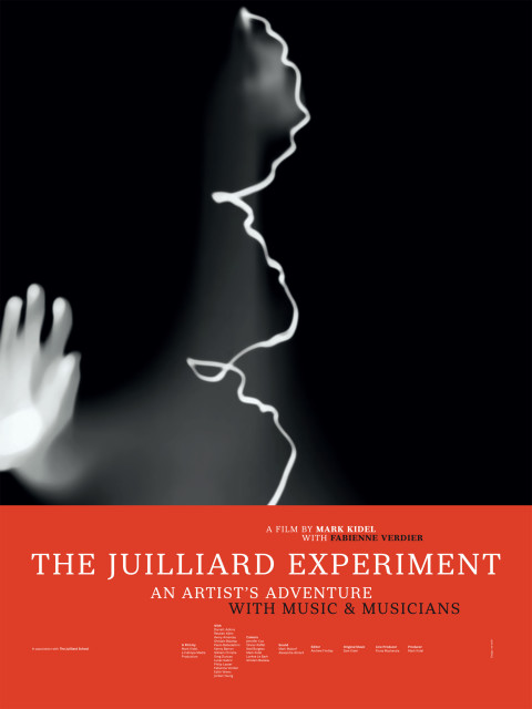 Fabienne Verdier - Poster of The Juilliard Experiment, a film by Mark Kidel
