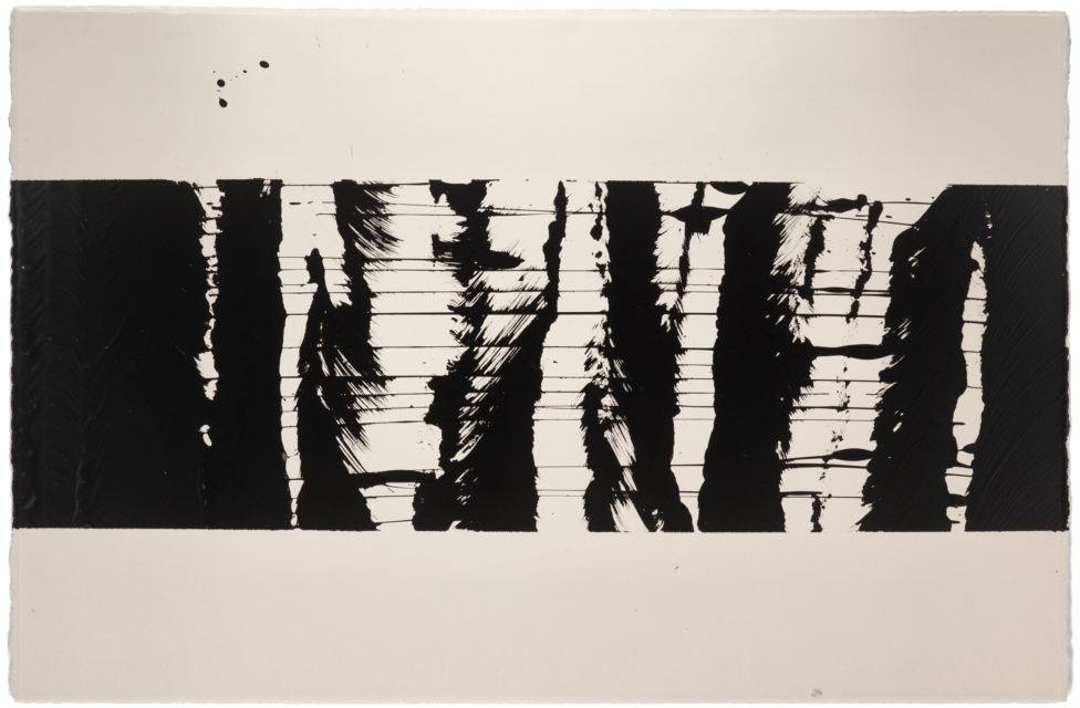 Sound trace on paper