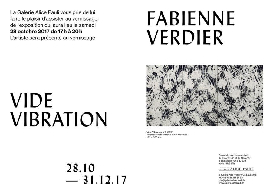 Fabienne Verdier - Vide_Vibration_invitation