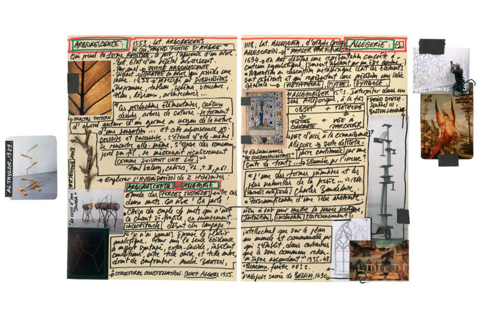 Arborescence - Allégorie, Planche n° 1