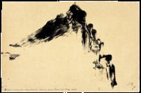 Autour de la montagne Sainte-Victoire, Mont Venturi, étude n° 01