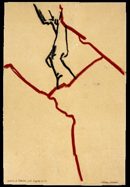 Carrières de Bibémus, esquisse n°19