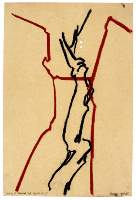 Carrières de Bibémus, esquisse n°25