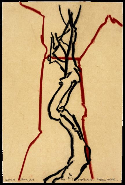 Carrières de Bibémus, esquisse n°44