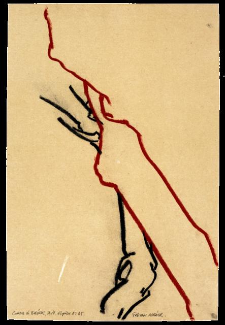 Carrières de Bibémus, esquisse n°45