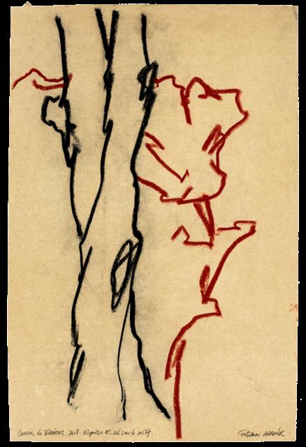 Carrières de Bibémus, esquisse n°46