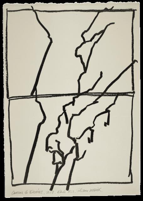 Carrières de Bibémus, étude n°02
