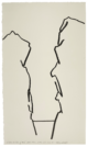 La Brèche des moines, prieuré Sainte-Victoire, étude n°01