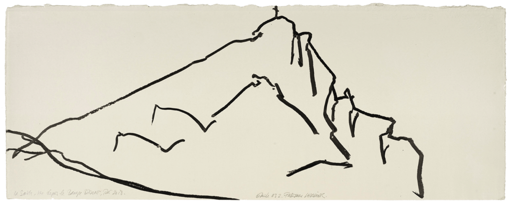 La sainte vue depuis le barrage Bimont, étude n°02