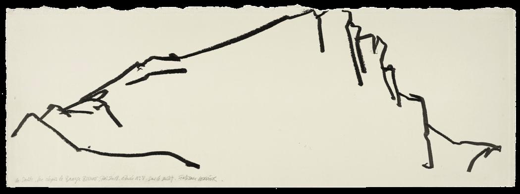 La sainte vue depuis le barrage Bimont, étude n°08