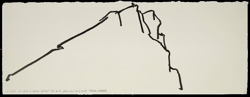 La sainte vue depuis le barrage Bimont, étude n°11