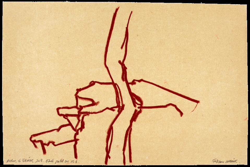 Rochers de Bibémus, étude n°01