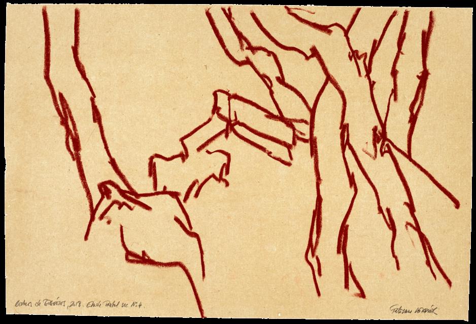 Rochers de Bibémus, étude n°04