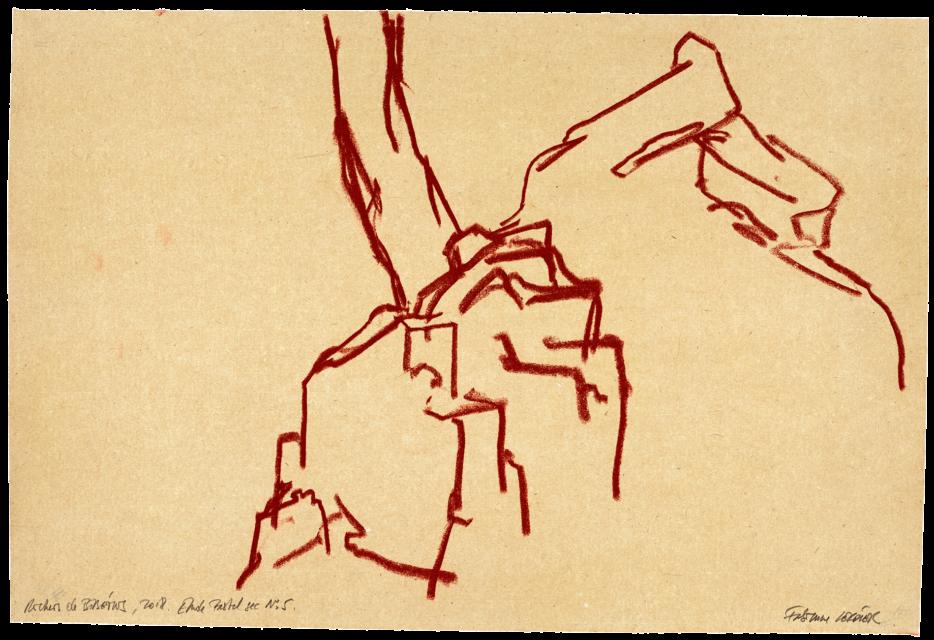 Rochers de Bibémus, étude n°05