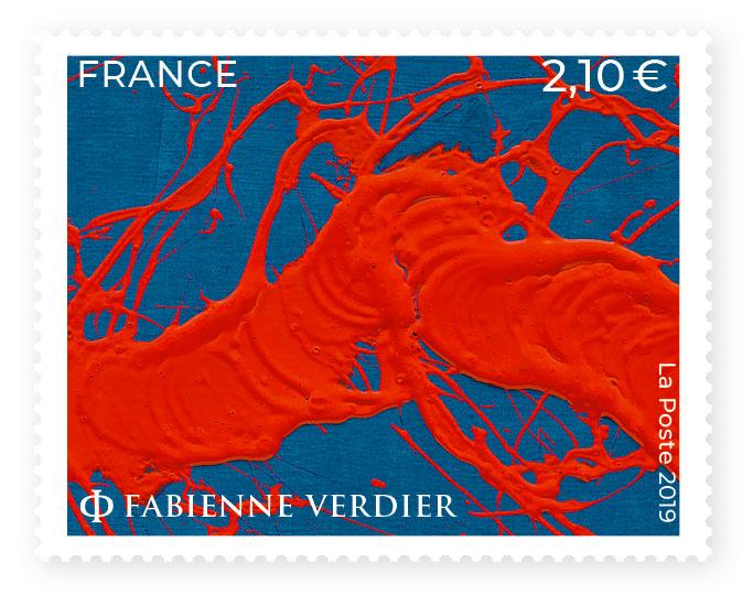 Fabienne Verdier - timbre_Fabienne_Verdier